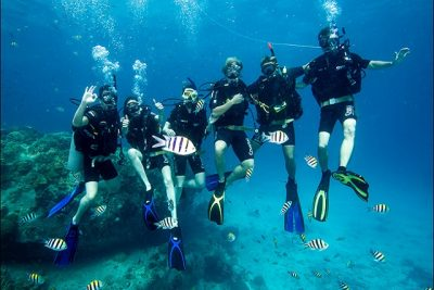 fun diving without rental equipment
